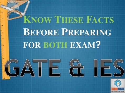 techno herald how to prepare for gate ies 2017 exam techno herald