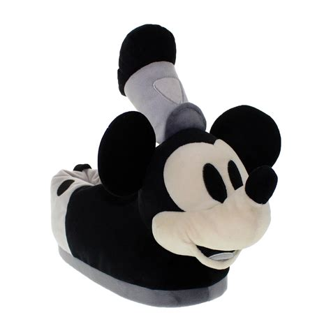 steamboat willie plush steamboat willie character figural plush slippers happy