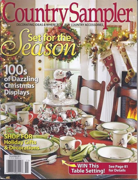 country sler magazine seasonal ideas christmas displays