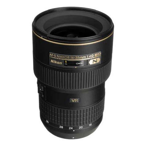 Nikon 35mm F 1 8g Ed Lensa Kamera jual nikon af s 16 35mm f 4g ed vr nikkor harga dan