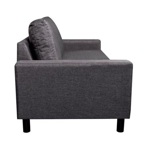 divani tre posti divano a tre posti grigio scuro vidaxl it