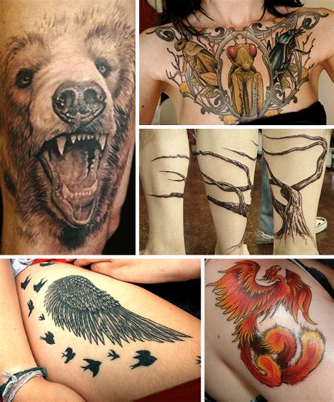animal tattoo nature natural born tattoos 35 fierce nature images in ink