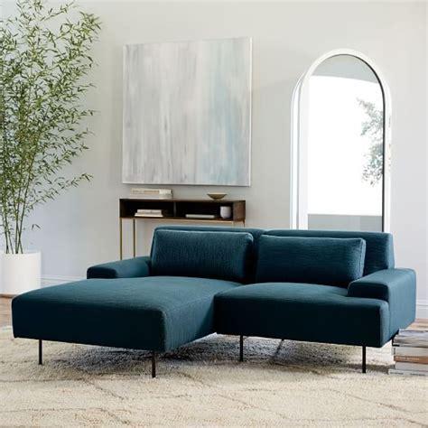elm beckham sofa beckham 2 chaise sectional elm