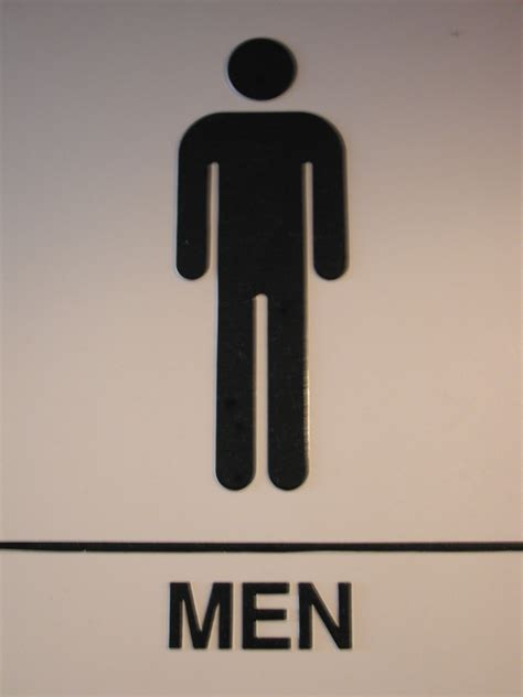 sign for bathroom bathroom signs