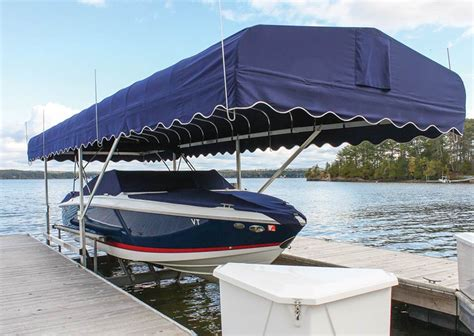 canopy in boat boat lift canopies