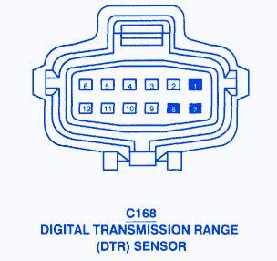 chrysler town country  digital  transmission fuse boxblock circuit breaker diagram