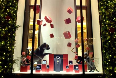 cartier interactive holiday window display 2012 by