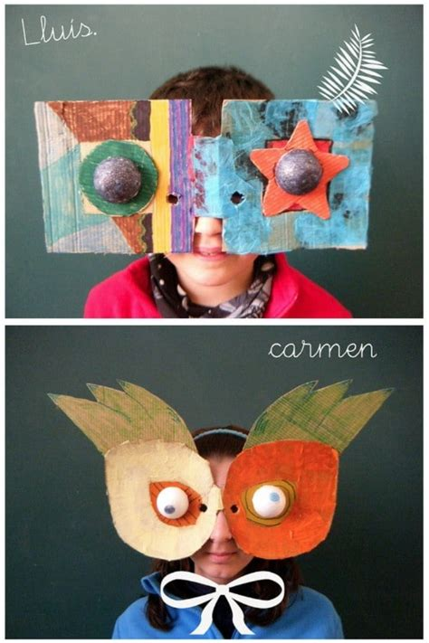 easy  creative diy halloween masks  kids