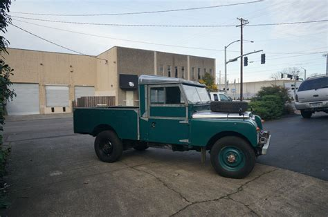 land rover pickup for sale 1957 land rover land rover series i diesel 109 pickup for