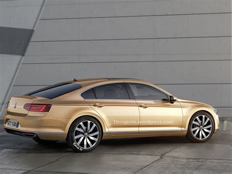 2016 Volkswagen Cc Rendered To Four Door Coupe Perfection
