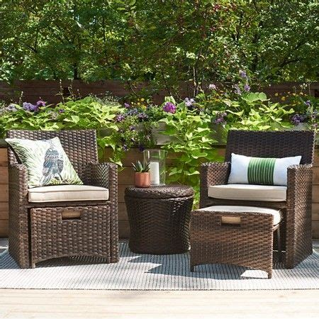 threshold wicker patio furniture 25 best ideas about small patio furniture on