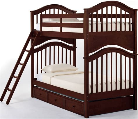 cherry bunk beds school house cherry jordan twin over twin bunk bed with