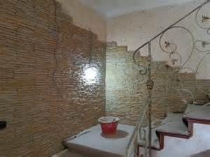 arredamento pareti arredamento con parete in pietra