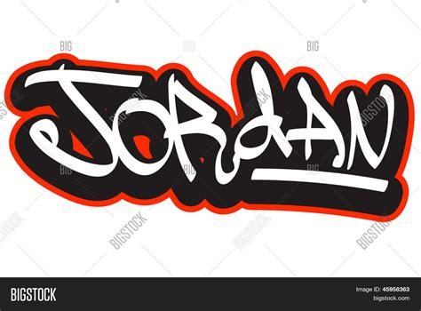 Imagenes De Graffiti Jordan | jordan graffiti font style name hip hop design template