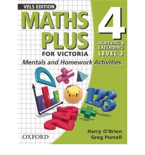 maths plus for mentals and homework activities