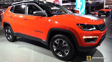 jeep compass trailhawk 2018 2018 jeep compass trailhawk exterior and interior