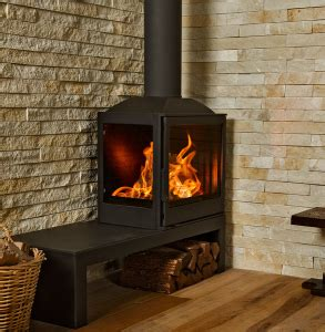 wood burning fireplaces bavorov side glass