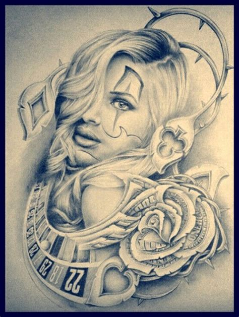 mexican clown tattoo designs 224 best images about mexican on chicano