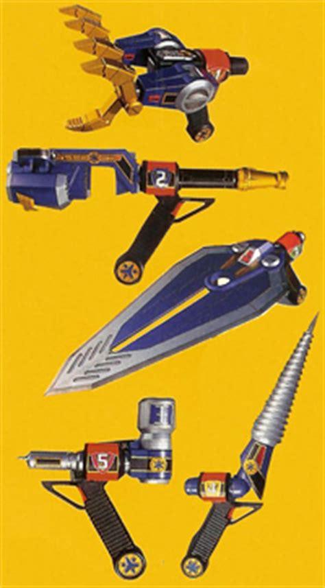 Tombak Power Rangers tokusatsu evolution the world of tokusatsu weapon and