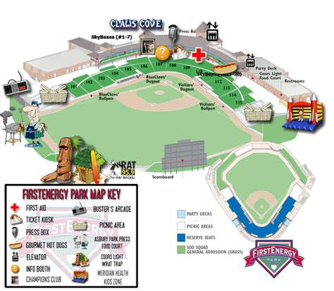 greensboro grasshoppers seating chart stadium guide lakewood blueclaws firstenergy park