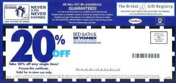 Bed bath and beyond coupon printable 2013