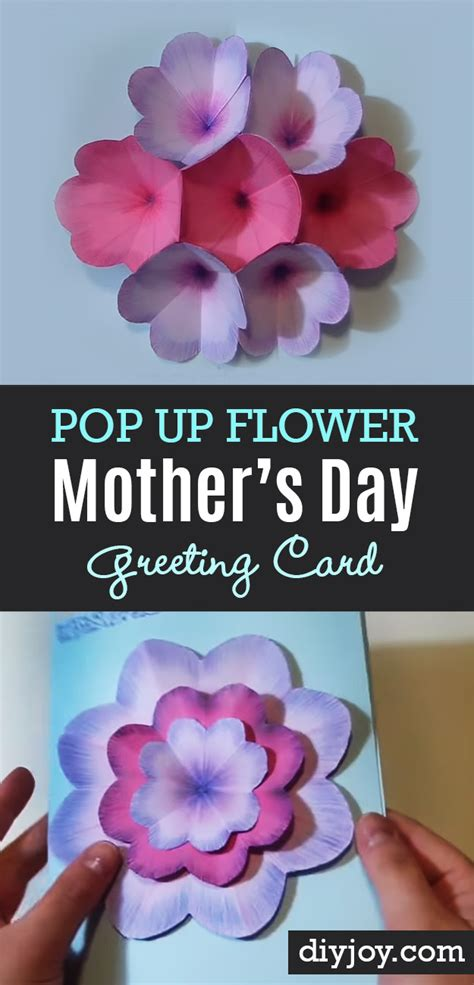 Mothers Day Gift Cards - 35 creatively thoughtful diy mother s day gifts diy joy