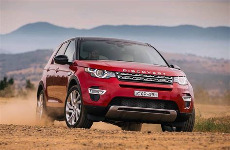 land rover discovery sport 2017 red 2017 land rover discovery sport gets new ingenium engines