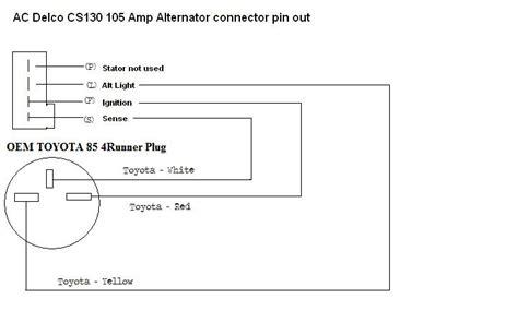 cs130 alternator wiring diagram cs130 free engine image