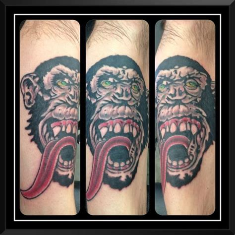 monkey tattoos tattoofan