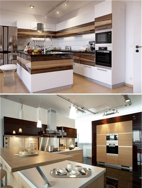 desain interior kitchen set minimalis modern  dapur