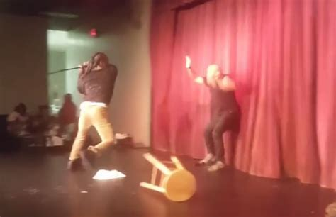 Tumika Set comedian steve brown responds to onstage attack viral