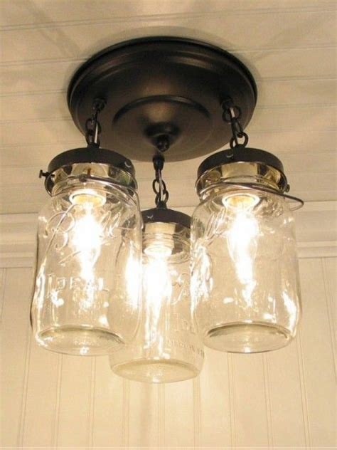 Canning Jar Light Fixtures Pin By On My Style Pinterest