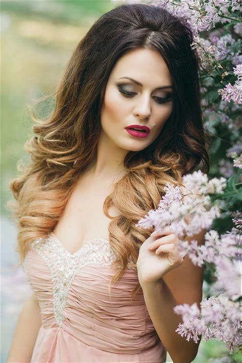 Wedding Hairstyles Ombre by Wedding Hairstyles Deer Pearl Flowers Part 5