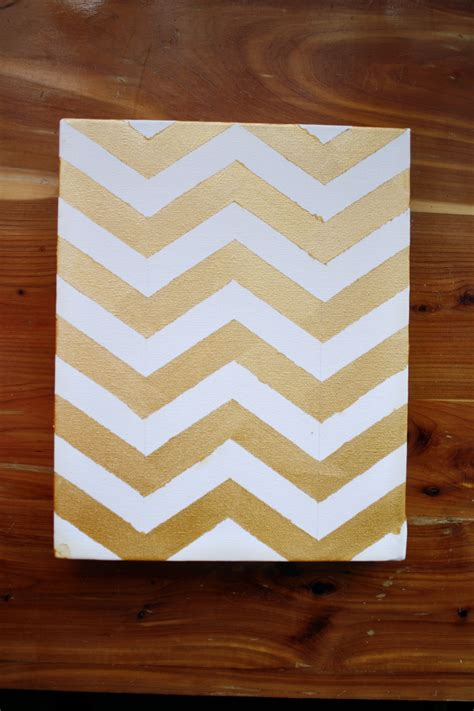 talia christine diy chevron wall painting