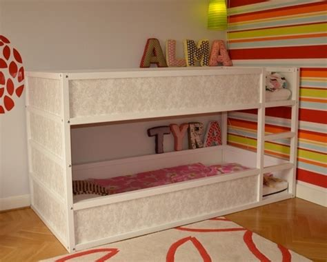 ikea hack bunk bed mommo design ikea kura bed hacks