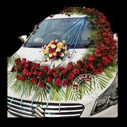 wedding car decoration shadi ke lie car sajawat in india