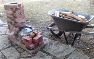 Landscaping For A Small Backyard Dry Brick Rocket Stove Maple Evaporator Midwest Permaculture