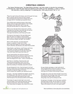 free printable christmas activities for fourth graders language arts worksheets middle school homeshealth info