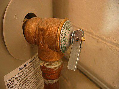 temperature  pressure relief valves  water heaters