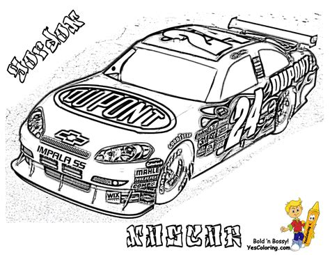 coloring pages of nascar race cars full force race car coloring pages free nascar sports car