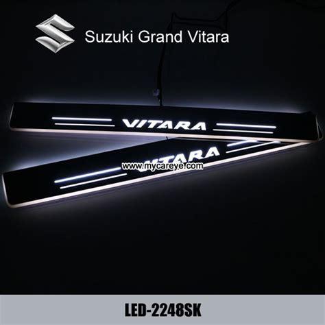 Sillplate Sing Model B suzuki grand vitara led door sill plate light moving door scuff pedal lights ec91143876