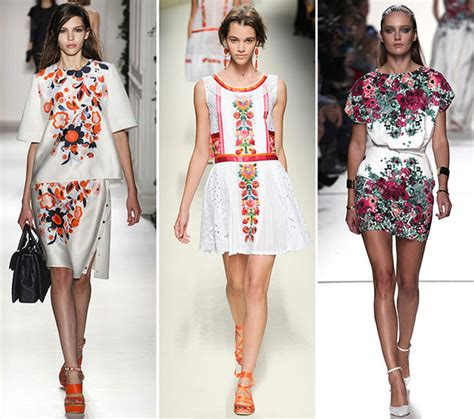 Summer 08 Trends On The Catwalk by Summer 2014 Trends Florals Appleblossom