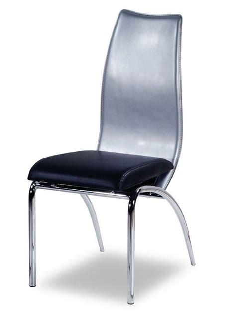 Dining Room Chairs Silver Contemporary Designer Silver Dining Chair Paterson New