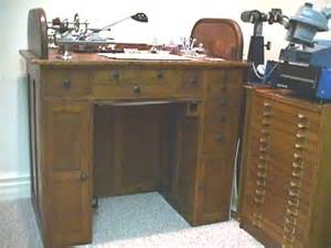 bench watches sale watchmakers bench early oak antique with treadle