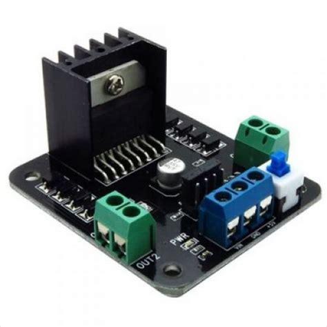 L298 Motor Driver By Warungarduino l298 dual h bridge dc motor controller robotshop