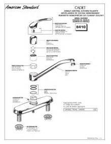 american standard kitchen faucet repair american standard faucet parts faucets reviews