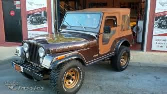 Eagle Jeep For Sale 1982 Amc Jeep Cj5 Golden Eagle Classic Cars For Sale