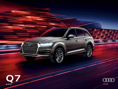 audi dealer 2017 audi q7 brochure orange county audi dealer