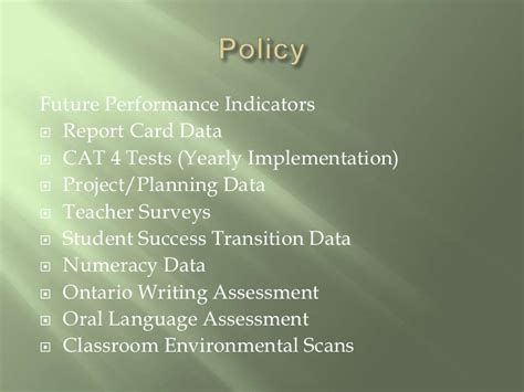 Trillium Report Card Templates by Nation Student Success Planning