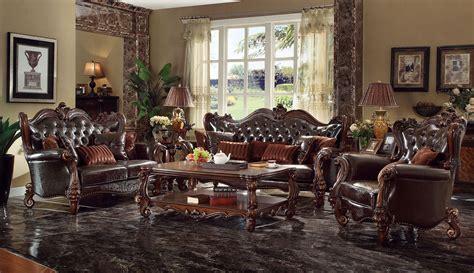 leather sofa wood trim
